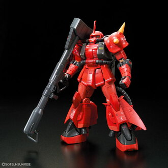 "RG 1/144 MS-06R-2 Johnny Ridden's Zaku II from ""Mobile Suit Gundam MSV"" Plastic Model(Released)(RG 1/144 MS-06R-2 ジョニー・ライデン専用ザクII 『機動戦士ガンダム MSV』より プラモデル)"