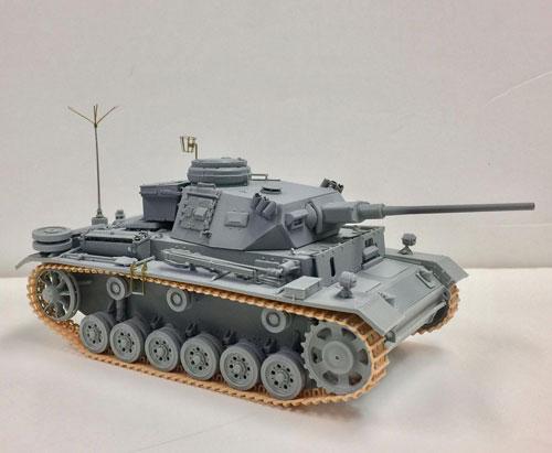 1/35 WW.II ドイツ軍 III号指揮戦車K型(スマートキット) プラモデル[ドラゴンモデル]《02月予約》