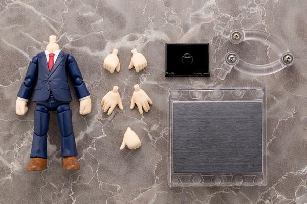 キューポッシュえくすとら スーツボディ(紺) 可動フィギュア[コトブキヤ]《発売済・在庫品》