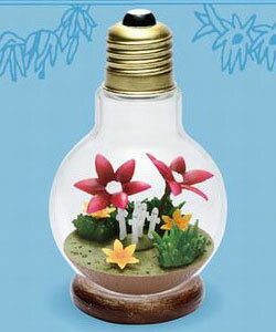 ムーミン Light Bulb テラリウム #3 ニョロニョロ[リーメント]《発売済・在庫品》