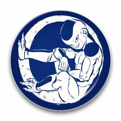 ドラゴンボールZ 陶磁器絵皿(セラミックプレート) (3)フリーザ(再販)[エンスカイ]《発売済・在庫品》