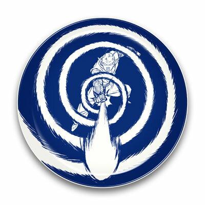 ドラゴンボールZ 陶磁器絵皿(セラミックプレート) (4)ピッコロ[エンスカイ]《発売済・在庫品》