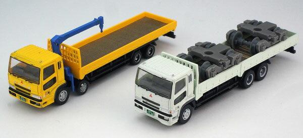 ザ・トラックコレクション 平荷台大型トラックセットB[トミーテック]《01月予約》