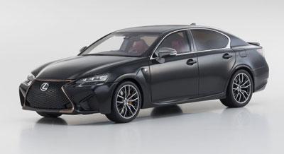 1/18 Lexus GS F (ブラック)[京商]《発売済・在庫品》