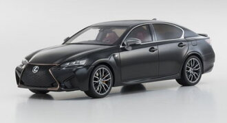 1/18 Lexus GS F (ブラック)(1/18 Lexus GS F (Black)(Released))