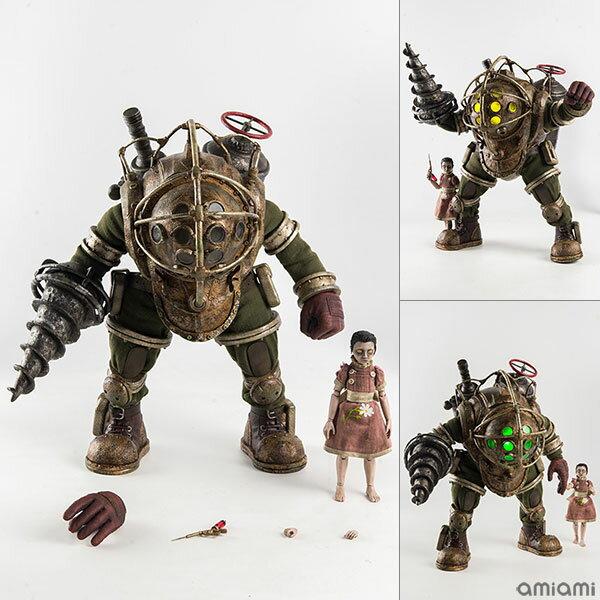 BioShock(バイオショック) 1/6 Big Daddy & Little Sister(1/6 ビッグダディ&リトルシスター) 可動フィギュア[スリー・ゼロ]【送料無料】《発売済・在庫品》