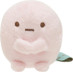 すみっコぐらし てのりぬいぐるみ たぴおか(ピンク)[サンエックス]《発売済・在庫品》