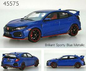 1/43 Honda CIVIC TYPE R 2017 Brilliant Sporty Blue Metalic[EBBRO]《未定月予約》