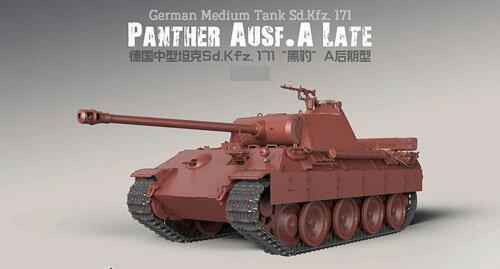 【特典】1/35 ドイツ中戦車 Sd.Kfz.171 パンターA後期型 プラモデル[MENG Model]《発売済・在庫品》