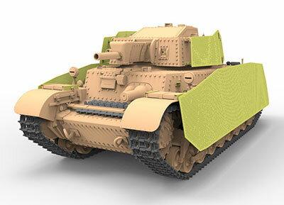 1/35 ハンガリー41M トゥラーンII 中戦車・75mm砲型 プラモデル[BRONCO]《発売済・在庫品》