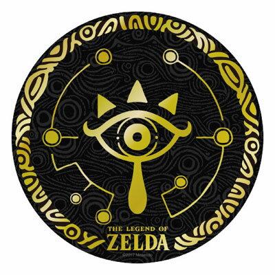 ゼルダの伝説 ブレスオブザワイルド 箔押しステッカー(3)[エンスカイ]《取り寄せ※暫定》