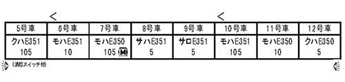 10-1342 E351系「スーパーあずさ」8両基本セット[KATO]【送料無料】《02月予約※暫定》