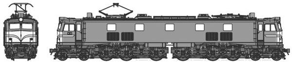 TW-EF58E 国鉄EF58小窓 前面警戒色(新標準色)[トラムウェイ]【送料無料】《夏月予約》