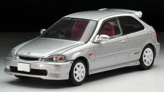 トミカリミテッドヴィンテージ ネオ LV-N158b シビックタイプR 97年 (銀)(Tomica Limited Vintage NEO - LV-N158b Civic Type-R '97 (Silver)(Released))
