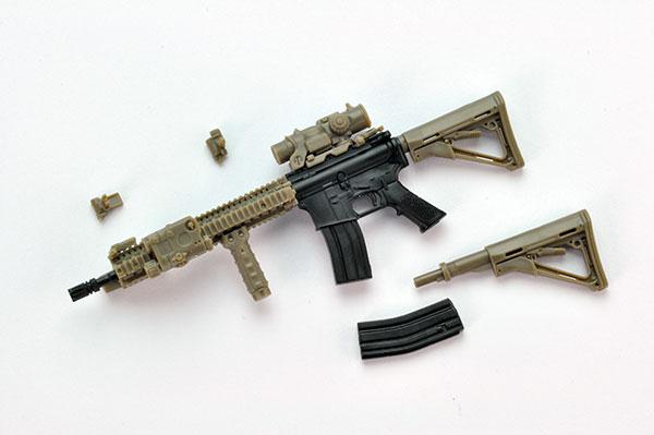 リトルアーモリー〈LA037〉M4A1SOPMOD BLOCK2タイプ[トミーテック]《発売済・在庫品》