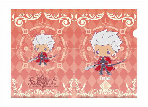 Fate/Grand Order Design produced by Sanrio A4クリアファイル エミヤ[エクスレア]《発売済・在庫品》