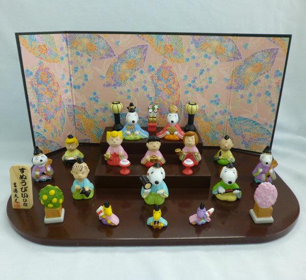 キャラクター節句人形 スヌーピー段飾り[吉徳]【送料無料】《取り寄せ※暫定》