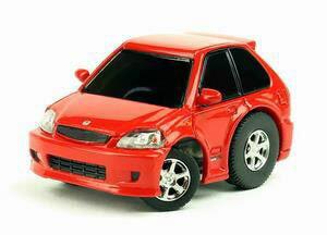 TinyQ ホンダ シビック EK9 1996-2000 レッド[TINY]《発売済・在庫品》