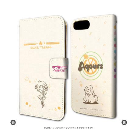 手帳型スマホケース(iPhone6/6s/7兼用)「ラブライブ!サンシャイン!!」01/高海千歌[A3]《01月予約》