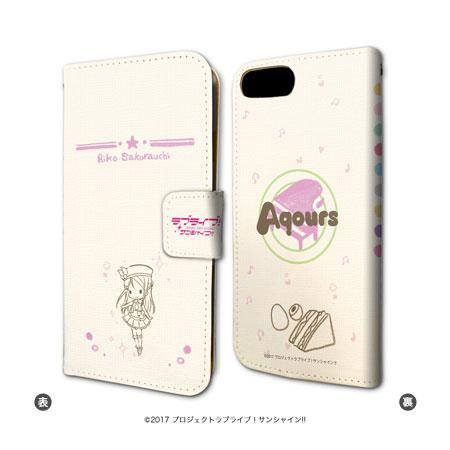 手帳型スマホケース(iPhone6/6s/7兼用)「ラブライブ!サンシャイン!!」02/桜内梨子[A3]《01月予約》