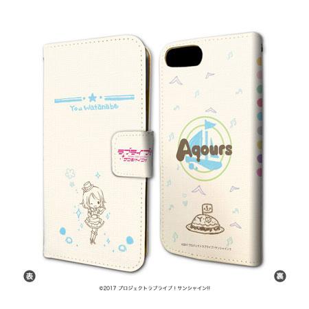 手帳型スマホケース(iPhone6/6s/7兼用)「ラブライブ!サンシャイン!!」03/渡辺曜[A3]《01月予約》