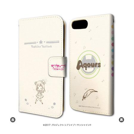 手帳型スマホケース(iPhone6/6s/7兼用)「ラブライブ!サンシャイン!!」08/津島善子[A3]《01月予約》