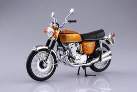 1/12 完成品バイク Honda CB750FOUR(K0) キャンディゴールド[スカイネット]《発売済・在庫品》