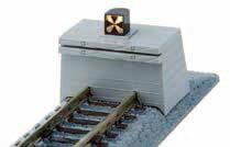 20-063 車止め線路A 66mm(標識灯点灯仕様)[KATO]《発売済・在庫品》