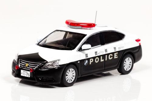 1/43 日産 シルフィ 2013 滋賀県警察所轄署地域警ら車両[RAI'S]《12月予約》
