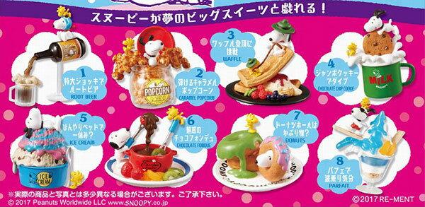 ピーナッツ スヌーピー Dreaming of Sweets! 8個入りBOX[リーメント]《発売済・在庫品》