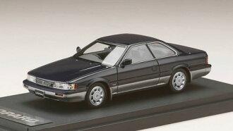 1/43 ニッサン レパード アルティマ V30ツインカムターボ (1988) ダークブルーツートン(1/43 Nissan Nissan Leopard Ultima V30 Twincam Turbo (1988) Dark Blue Two-tone(Back-order))
