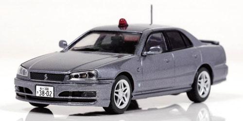1/43 日産 スカイライン 25GT-X (ER34) 2000警視庁刑事部機動捜査隊車両 [Silver](宮沢模型流通限定)[RAI'S]《02月予約》