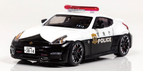 1/43 日産 フェアレディ Z NISMO (Z34) 2016 警視庁交通部交通機動隊車両 [7交12](宮沢模型流通限定)[RAI'S]《02月予約》
