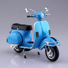 1/12 完成品バイク VESPA P200E(1978/スカイブルー)[スカイネット]《発売済・在庫品》