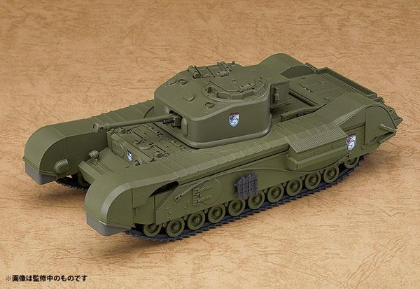 ねんどろいどもあ ガールズ&パンツァー 最終章 チャーチル歩兵戦車 Mk.VII[グッドスマイルカンパニー]《発売済・在庫品》