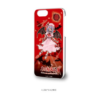 "Hard Case (iPhone 6/6s/7/8) ""Touhou Koumakyou"" 04 / Remilia Scarlet (GraffArt Design)(Released)(ハードケース(iPhone6/6s/7/8兼用)「東方紅魔郷」04/レミリア・スカーレット(グラフアートデザイン))"