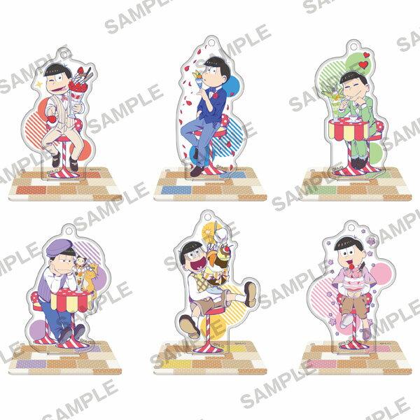 おそ松さん アクリルスタンドフィギュア パフェ松 6個入りBOX[KADOKAWA]《03月予約※暫定》