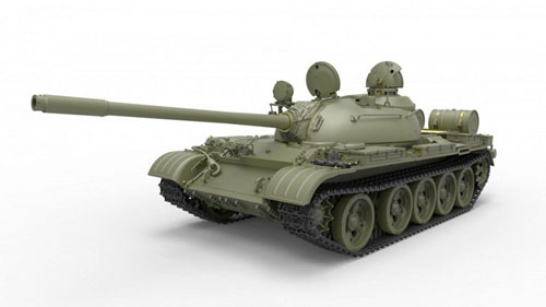 1/35 T-55A初期型 Mod.1965 フルインテリア(内部再現) プラモデル[ミニアート]《発売済・在庫品》