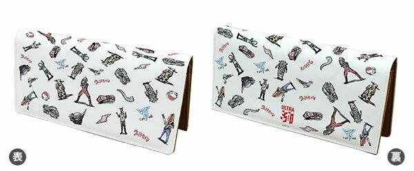 ロングキャラ財布「ウルトラセブン」01/チョークアートデザイン[A3]《01月予約》