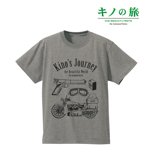 キノの旅 -the Beautiful World- the Animated Series ラインアートTシャツ/メンズ(サイズ/S)[アルマビアンカ]《02月予約》