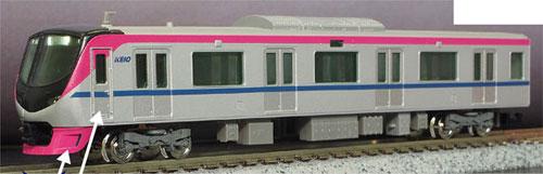 30728 京王5000系(座席指定列車) 基本6両編成セット(動力付き)[グリーンマックス]【送料無料】《05月予約》