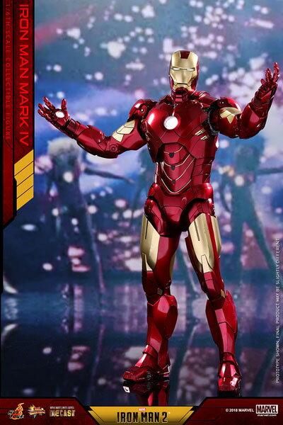 ムービー・マスターピース DIECAST アイアンマン2 1/6 アイアンマン・マーク4 延期前倒し可能性大[ホットトイズ]【同梱不可】【送料無料】《12月仮予約》