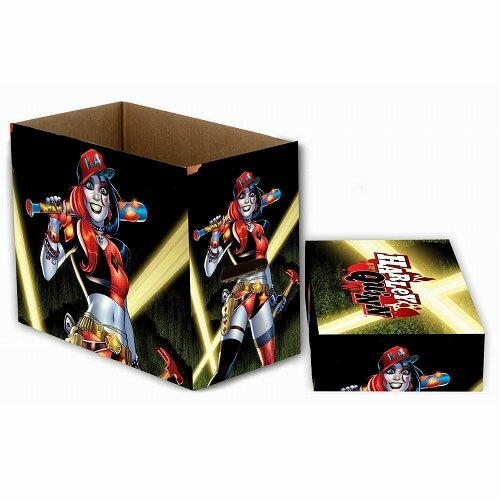コミックブック ストレージボックス/ DCコミックス ハーレイ・クイン バックライト ver[ネカ]《05月仮予約》