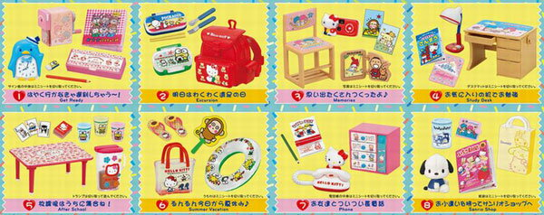 サンリオキャラクターズ 恋するサンリオメモリーズ 8個入りBOX (食玩)(再販)[リーメント]《10月予約》