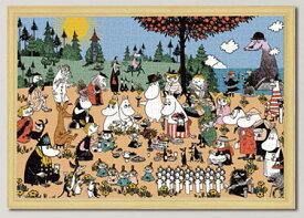 ジグソーパズル ムーミン谷の素敵な仲間 1000ピース (10-1306)[やのまん]《取り寄せ※暫定》
