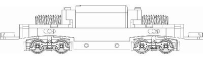 TW-N-MTR-C N都電7000用動力装置(D20)[トラムウェイ]《発売済・在庫品》