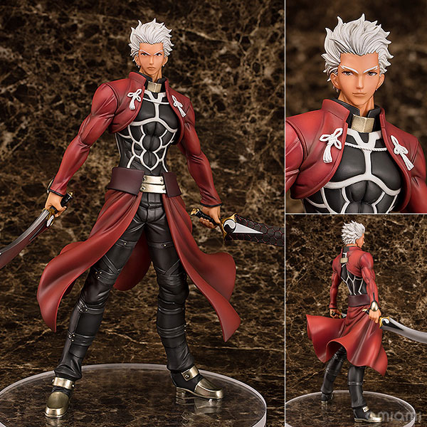 Fate/stay night [Unlimited Blade Works] アーチャー Route:Unlimited Blade Works 1/7 完成品フィギュア[アクアマリン]《発売済・在庫品》