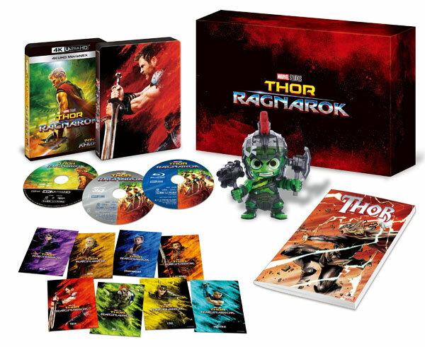 UHD マイティ・ソー バトルロイヤル 4K UHD MovieNEX プレミアムBOX (Blu-ray Disc)[ウォルト・ディズニー・スタジオ・ジャパン]《取り寄せ※暫定》