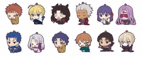 Fate/stay night Heaven's Feel ラバーストラップコレクション ViVimus 12個入りBOX[ムービック]《発売済・在庫品》