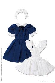 48cm/50cm用 50 クラシカルミニメイド服セット ブルー (ドール用)[アゾン]《発売済・在庫品》